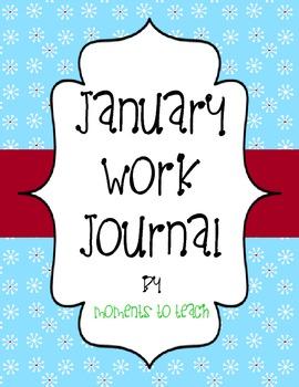January Work Journal
