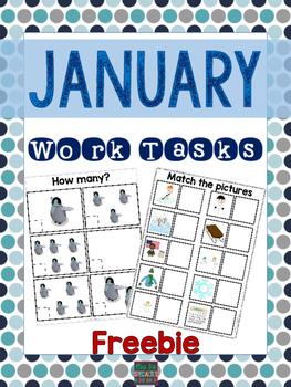 January Work Tasks {FREEBIE}