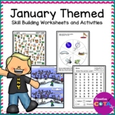 January Worksheets and Activities Variety Set
