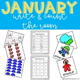 January Write & Count the Room
