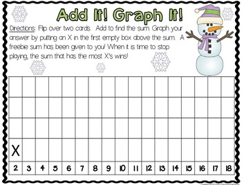 January Math Centers and Games
