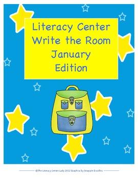 January Write The Room Literacy Center