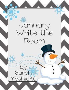 January Write the Room FREEBIE!