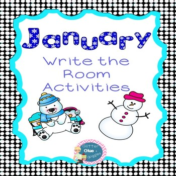 January Write the Room Activities