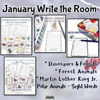 January Write the Room Bundle