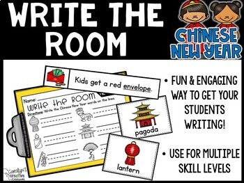 January Write the Room - Chinese New Year Write the Room