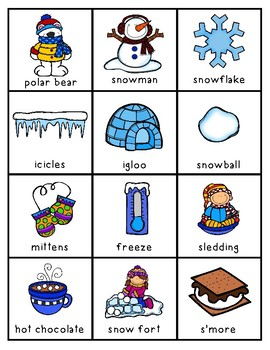 January Write the Room For Younger and OLDER Students FREEBIE