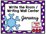 January Write the Room - Writing Wall Center