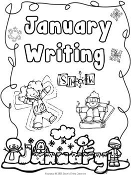 January Writing Prompts {Narrative Writing, Informative & Opinion Writing}
