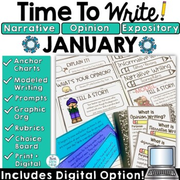 January Activities Writing Prompts