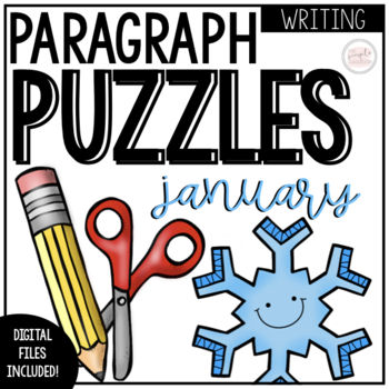 January Writing Activity: Paragraph Puzzlers