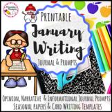 January Writing Prompts  & January Writing Activities