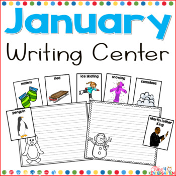 January writing center- This January center is complete with colorful vocabulary picture cards and stationary.