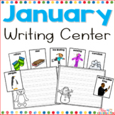 January Writing Center for Kindergarten and First Grade