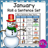 January Writing Center Roll a Story Activities