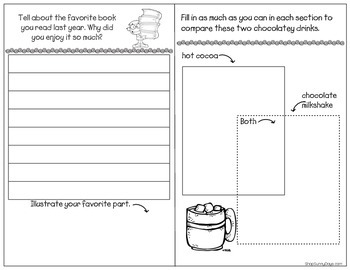 January Writing Journal and Task Cards