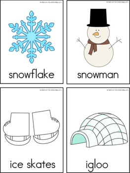January Writing Center Tools: Winter Words