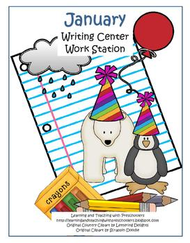 January Writing Center Work Station