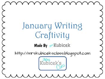 January Writing Craftivities