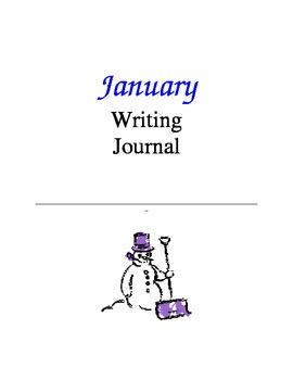Writing Journal, January