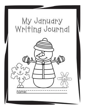 January Writing Journal: 2nd grade