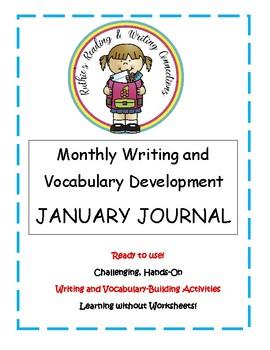 My January Writing Journal