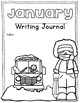 January Writing Journal Covers