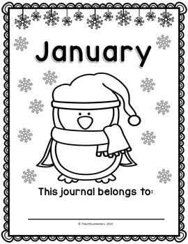 January Writing Journal {NO PREP}