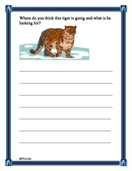 January Writing Journal - No Prep Required