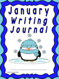 January Writing Journal for 1st and 2nd grade CCSS