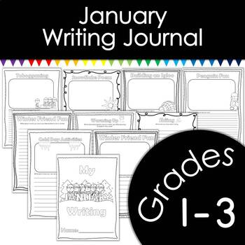January Writing Journal with Prompts