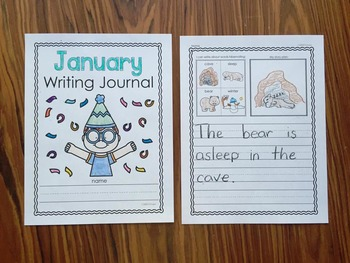 January Writing Journals