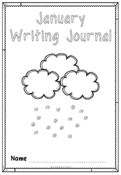 January Writing Pack for Emergent Readers and Writers
