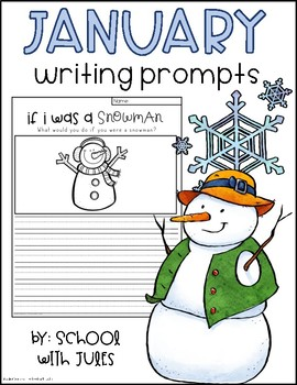 January Writing Packet