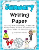 January Writing Paper
