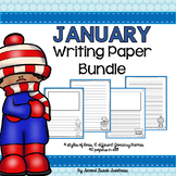 January Writing Paper Bundle