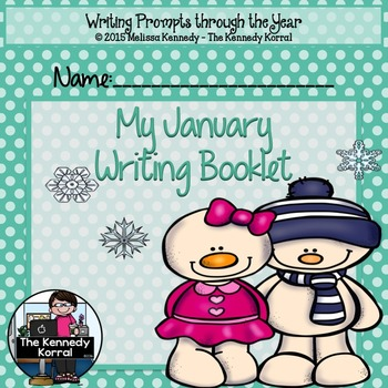 January Writing Prompts {20 Writing Prompts & Pictures to Color}