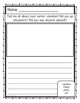 January Writing Prompt FREEBIES!!