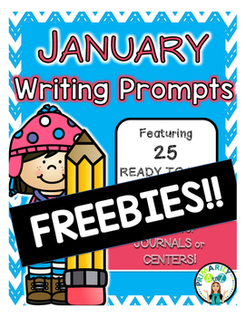 January Writing Prompt FREEBIES!!
