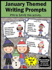 January & New Year's Day Creative Writing Prompts Literacy