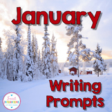 JANUARY ACTIVITIES WRITING PROMPTS and Graphic Organizers