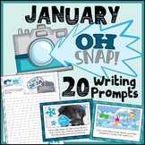 January Writing Prompts - Winter Writing Prompts - Google Classroom Activities
