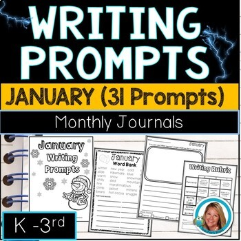 January Writing Prompts Journal