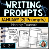 Winter Writing Prompts for Kindergarten - 3rd January Journal