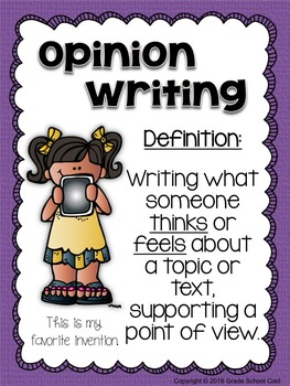 January Writing Prompts: Opinion, Informative, Narrative: 3-5