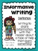 January Writing Prompts: Opinion, Informative, Narrative: K-2