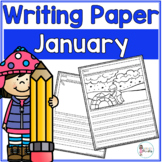 January Writing Prompts & Paper