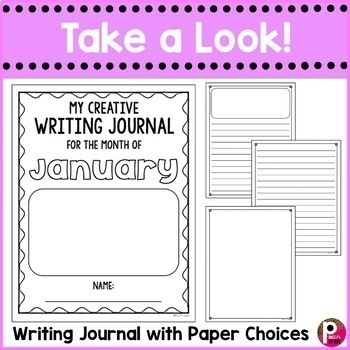January Writing Prompts and Journal