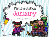 January Writing Station