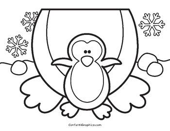 January Writing Toppers No Prep MLK, Penguin, Snowman  K 1 2 3